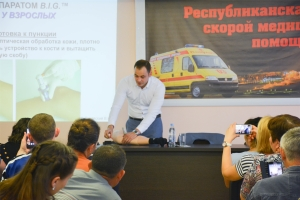 Внутрикостный доступ: мастер-класс для сотрудников выездных бригад