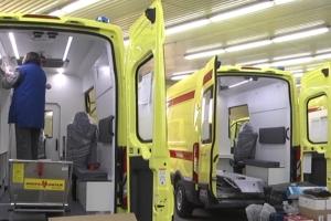 Аппараты искусственной вентиляции лёгких в реанимобили для борьбы с пандемией