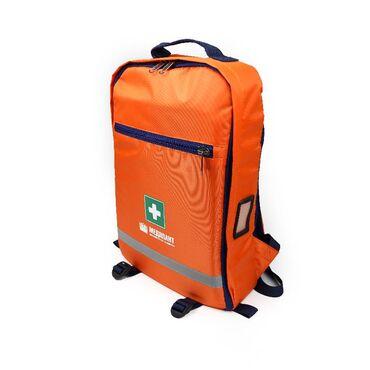 Набор первой помощи НПП (расширенный) исполнение 2, в рюкзаке «ВОЛОНТЕР-4», цвет оранжевый - Комплекты для первой помощи