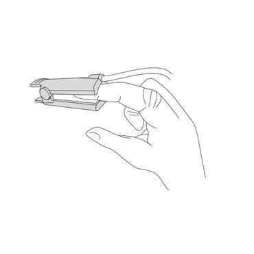 """Пульсоксиметр портативный """"Окситест-1"""" с сетевым адаптером, с взрослым датчиком, с детским датчиком (манжетка) - Пульсоксиметры Медплант"""